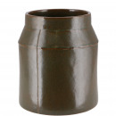 Ceramic bucket Celso, D12cm, H16cm, for TO10, gree